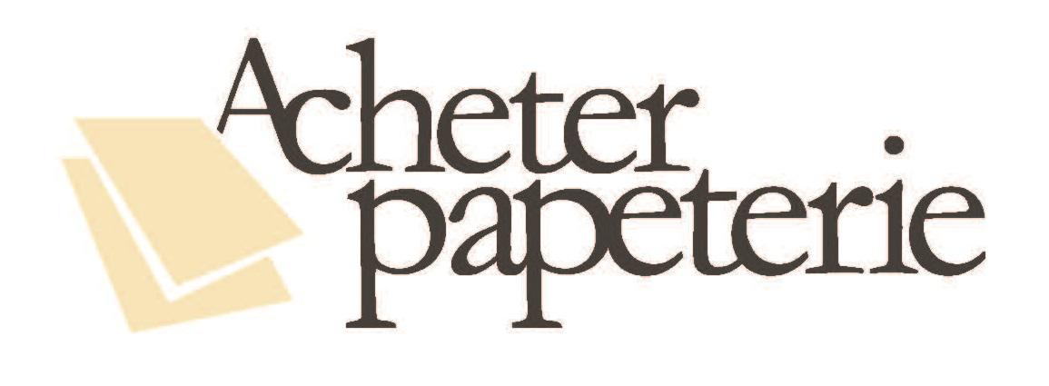 Acheter Papeterie