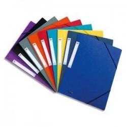 CHEMISE 3 rabats et élastique Eurofolio, en carte lustrée 5/10e coloris assortis 100200725