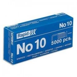 AGRAFES N°10 - Rapid - Bte 5000 agrafes