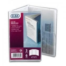 Etui carte grise -3 volets - 6 faces - Elba - 135X90