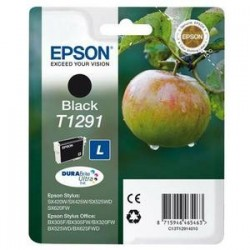 Cartouche jet d'encre - Epson - C13T12914011 BK(Noir) - Pomme