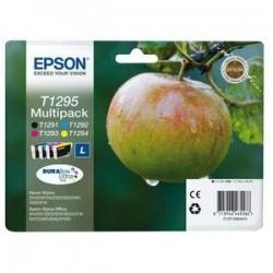 Cartouche jet d'encre - Epson - C13T12954010 Couleurs - Pomme