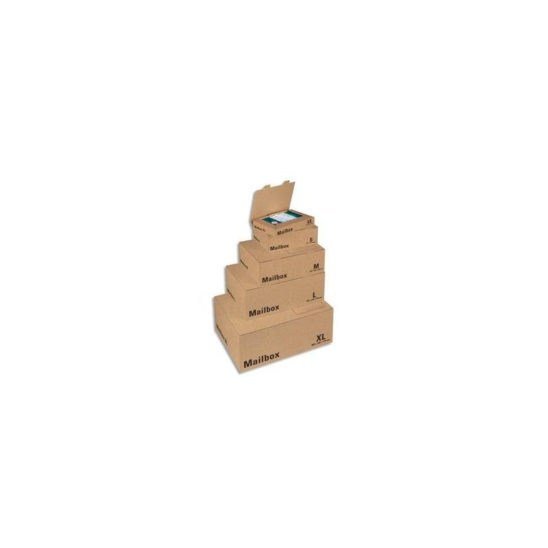 Boîte d'expédition CPO98 - Colompac -Large - (lxhxp) 39,5x25x14