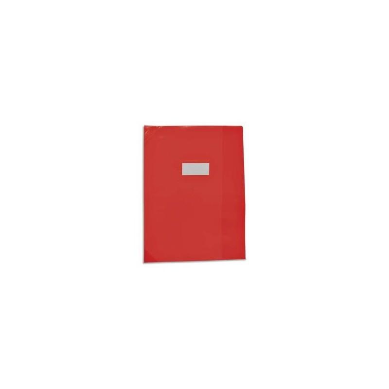 Protège cahiers - strong line opaque 15/100ème - coins renforcés 30/100è - Elba - 24x32 - assortis -