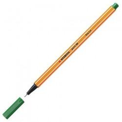 Stylos feutre - STABILO - Point 88 - Pointe fine 0,4 mm - Vert