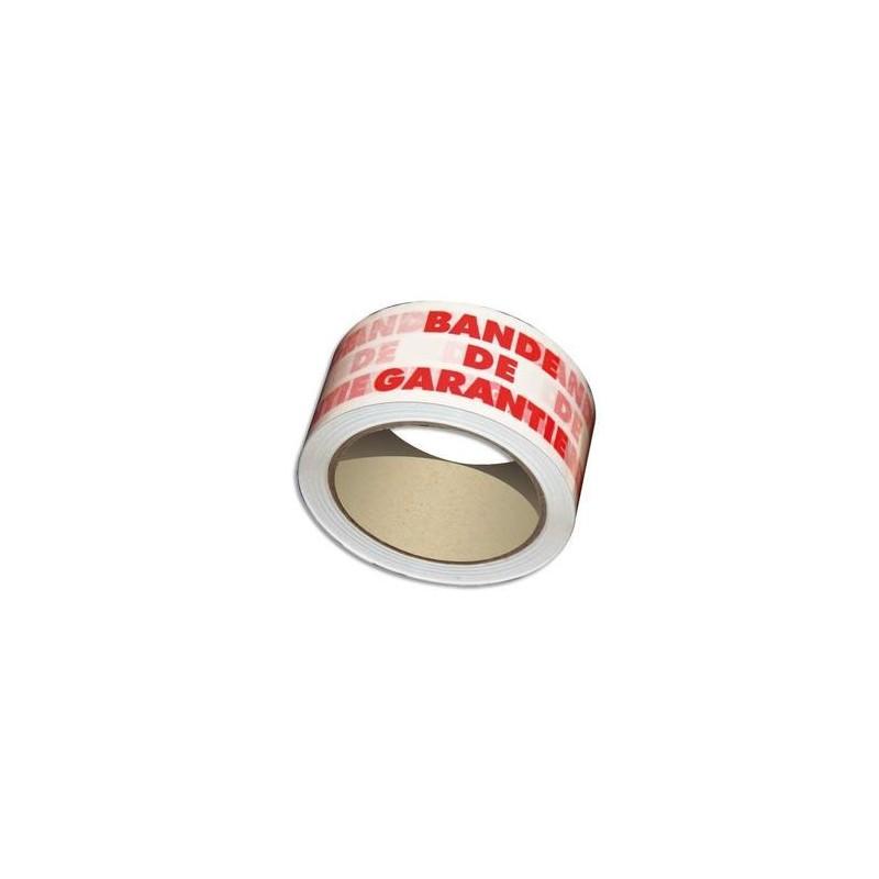 EMB RUB BANDE GARANTIE - 48mmX100m - 50 microns - Tesa