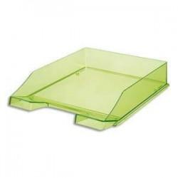 Corbeille à courrier cristal - 25.5 x 6.5 x 34.8 - Vert - HAN 1026-X-27