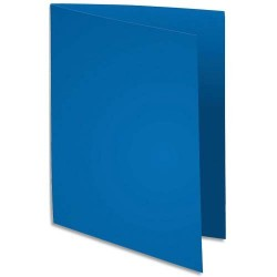 100 Chemises - 180g - 24x32 - Bleu foncé - 5 ETOILES