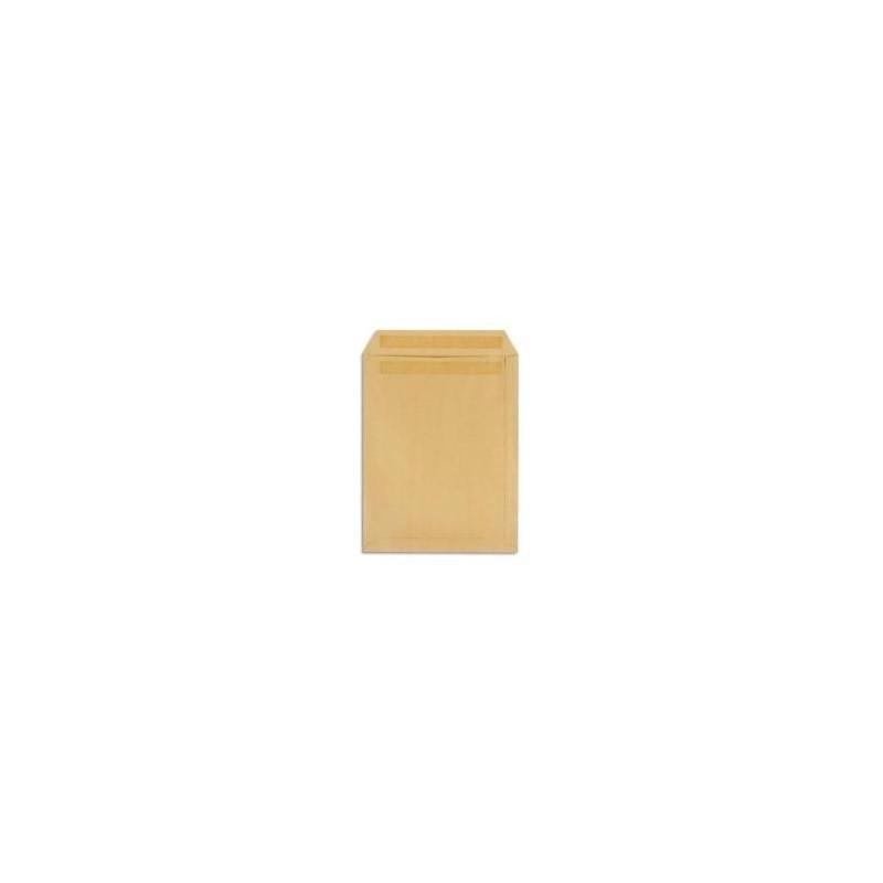 500 pochettes - Kraft -162x229 - 90g - autocollant -NEUTRE