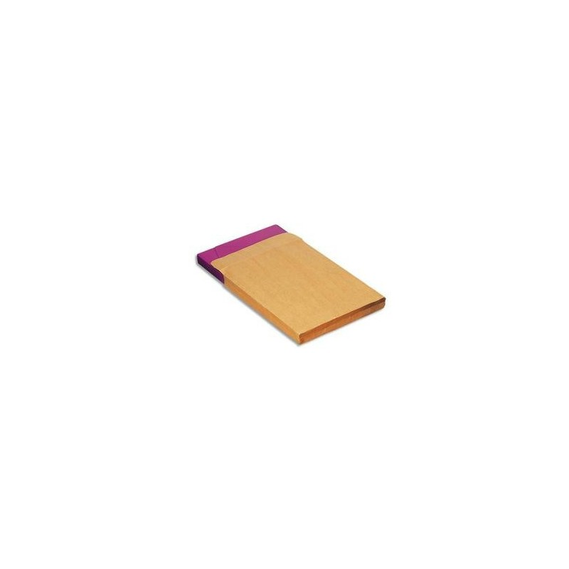 Pochettes Kraft  à soufflet - Auto/Adhés - 120g - 229x324 - C4 - 5 ETOILES