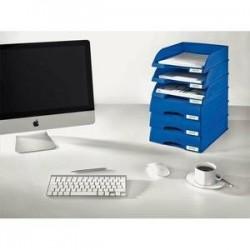Corbeille à tiroir - Porte Etiquette - Bleu - (lxhxp) 25,5x7x36 - LEITZ