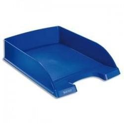 Corbeille courrier - Porte Etiquette - Bleu - (lxhxp) 25,5x7x36 - LEITZ