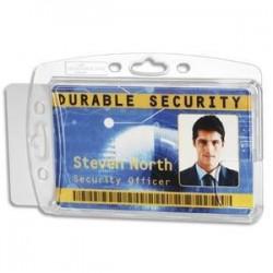 Porte-badge pour 2 cartes - DURABLE