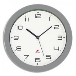 Horloge murale - Cadran ABS - Diam. 30cm - Gris - ALBA