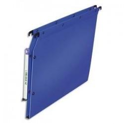 Dossier suspendu pour armoire - Bleu - Fond 15mm - Polypro. - ELBA