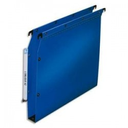 Dossier suspendu pour armoire - Bleu - Fond 30mm - Polypro. - ELBA