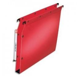 Dossier suspendu pour armoire - Rouge - Fond 30mm - Polypro. - ELBA
