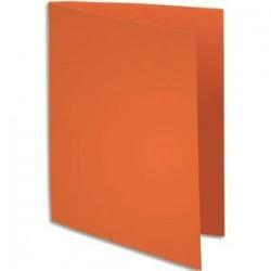 Chemise 220g - 24x32 - Paquet 100 - Orange - EXACOMPTA