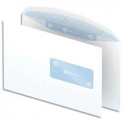 Boite 500 enveloppes - 80g - C5 - fenetre 45mm - blanc