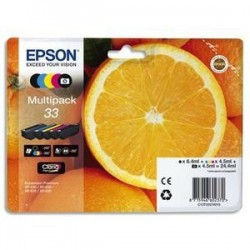 Multipack - Jet encre - Orange - C13T33 374010 - EPSON