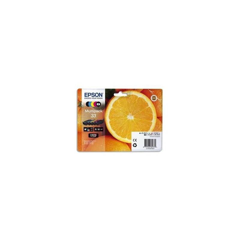 Multipack - Jet encre - Orange - C13T33 374010 - EPSON