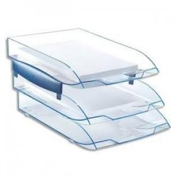 Corbeille courrier - ICE BLUE - Pour Doc. 24x32 - CEP
