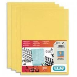 S/10 poch/Coin - FARD'LISS - PVC - Jaune - ELBA