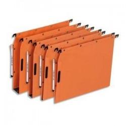 Bte/25 Dossiers susp - Armoire - Fond 15cm - Orange -ELBA