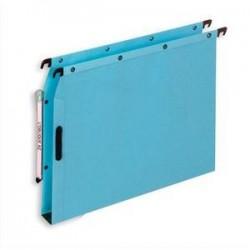 Bte/25 Dossiers susp - Armoire - Fond 30cm - Bleu - ELBA