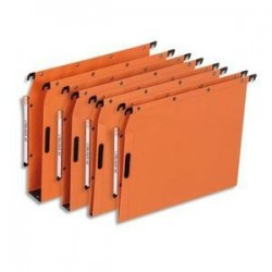 Bte/25 Dossiers susp - Armoire - Fond 50mm - Orange -ELBA