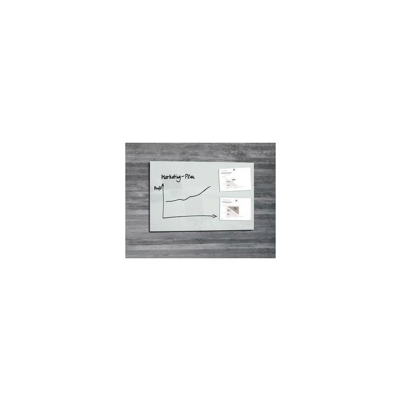 Tableau Verre - 100x65cm - ARTVERUM - Blanc - SIGEL
