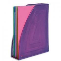 Porte-Revues - Métal violet - MESH - ALBAMAG P