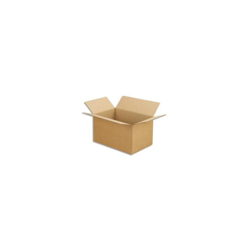 25 Caisses - Sple Cannelure - 30X20X17 -  EMBALLAGE