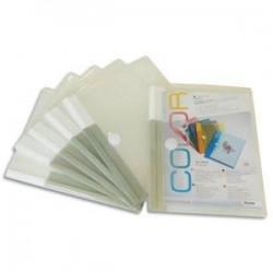 Sac/6Env PP. 2/10è - Velcro - A5 - Incol- TARIFOLD