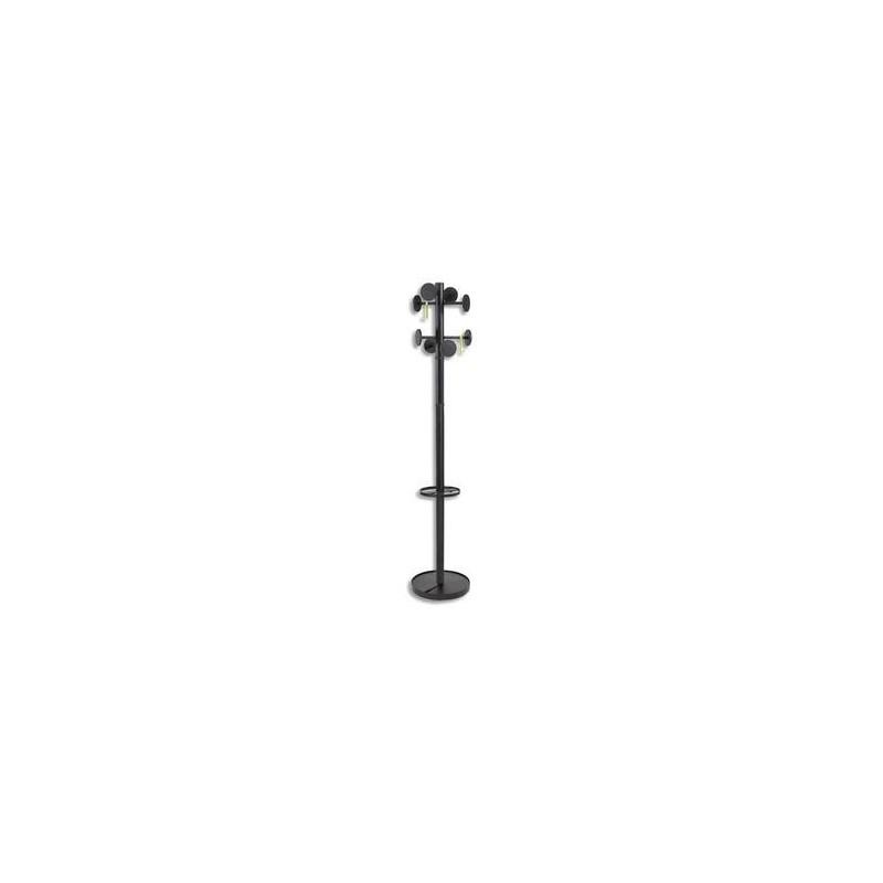 Portemanteau Stan 3 -Noir- + porte- parapluie - ALBA