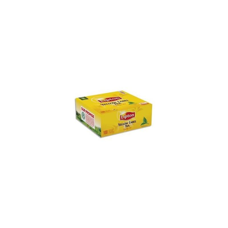 Bte/100 Sachets - Thé - Yellow -LIPTON