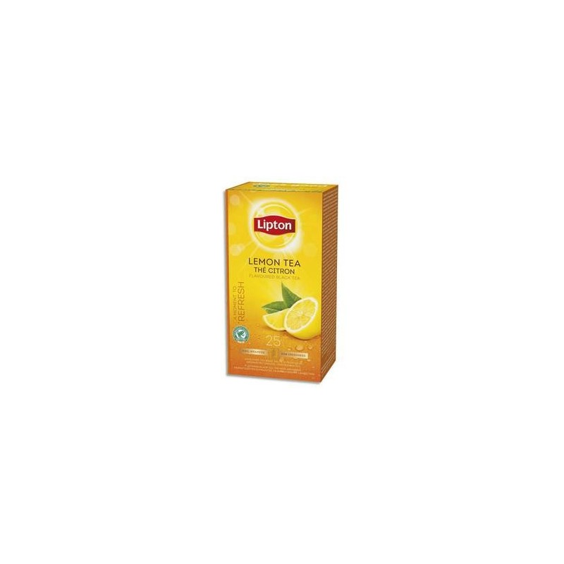 Bte/25 Sachets - Thé - Citron -LIPTON