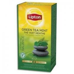Bte/25 Sachets - Thé - Vert Menthe  -LIPTON