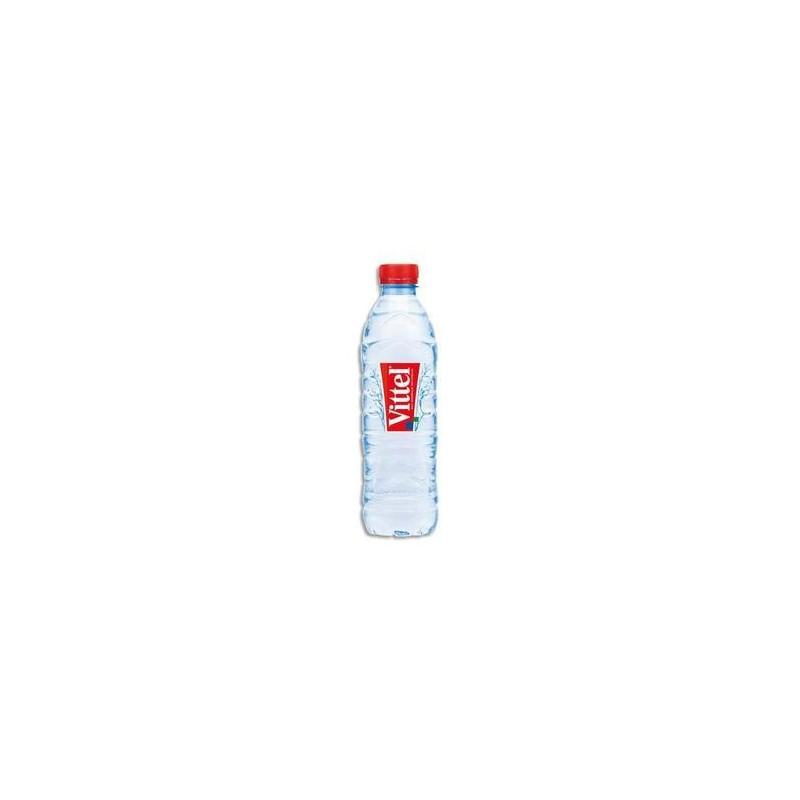 Bouteille plast -Eau minérale plate - 50cl - VITTEL