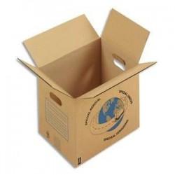 Carton/Déménag - Sple Cannelure - 35x30x27,5cm