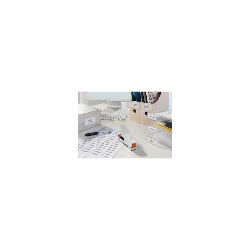 Bte/2400 Etiq - Multiusages - Blanc - 5X5cm - AVERY