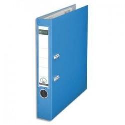 Class à Levier -  PP - Dos 8 cm - Bleu clair - LEITZ