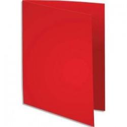 Pqt 100 Chemises - SUPER 250 - 210g - Rouge - EXACOMPTA