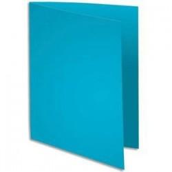 Pqt 100 Chemises - SUPER 180 - 160g - Bleu clair - EXACOMPTA