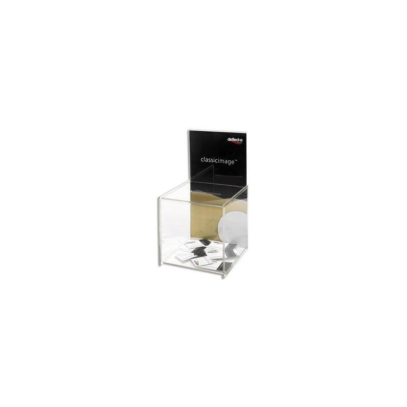 Urne avec Porte affiche - 37,5x20,3cm - DEFLECTO