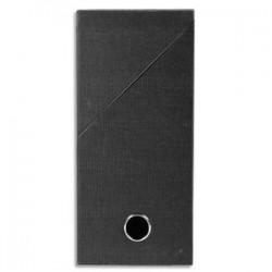 EXACOMPTA Boîte de transfert, carton rigide recouvert de papier toilé, dos 12 cm, 34x25,5 cm, noir