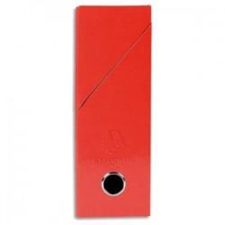 EXACOMPTA Boîte de transfert Iderama, carte lustrée pelliculée, dos 9,5 cm, 34x26 cm, coloris rouge