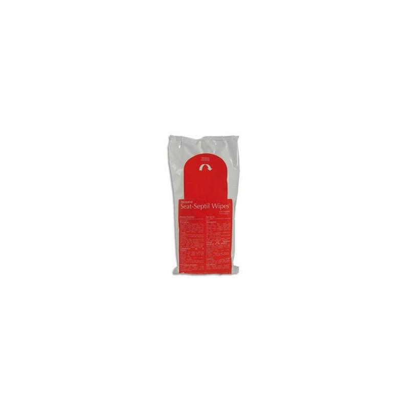 HYGIENE Paquet de 350 Lingettes désinfectantes toilettes Seat-Septil - Dim : 13 x 15 cm