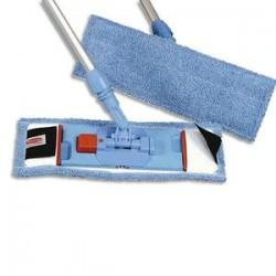 RUBBERMAID Kit Support mixte + manche aluminium + Frange coton à languette