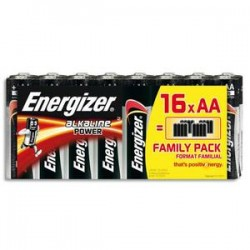 ENERGIZER blister de 16 piles aa LR06 power 627523